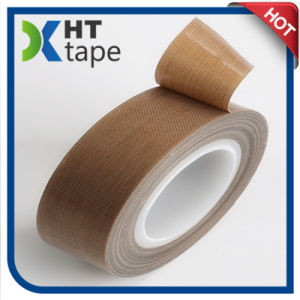 Strong Adhesion Heat Resistant Teflon Tape Glass Cloth Tape pictures & photos