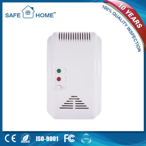220V Wall Mounted Home Gas Natural LPG Gas Leak Detector pictures & photos