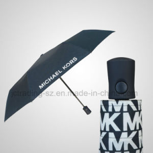 Windproof Automatic Foldable Umbrella pictures & photos