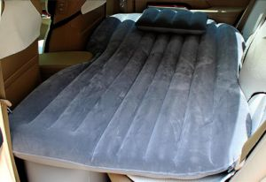 Deflatable Air Inflation Car Bed Mattress Drive Camping Flocking pictures & photos