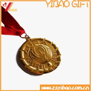 Square Lanyard Coin and Medal of Medallion Custom Logo (YB-HR-60) pictures & photos
