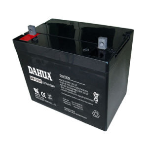 Dahua 12V 70ah Gel Solar Battery for Solar Systems pictures & photos