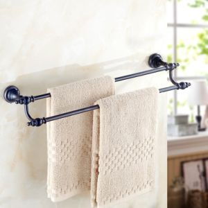 Flg Bathroom Accessories Double Towel Bars Wall Mount pictures & photos