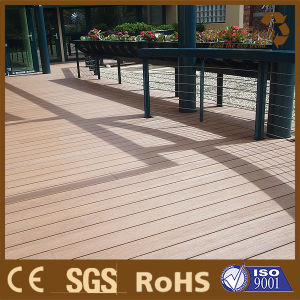 Waterproof WPC Wood Swimming Poo Composite Decking pictures & photos