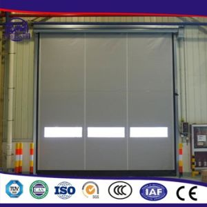 Environmental Cheap Promotional Energy-Efficient PVC Workshop Door by China Supplie pictures & photos