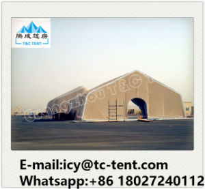 High Quality Spacious Large Curve Outdoor Tents for Airplane Hanger pictures & photos