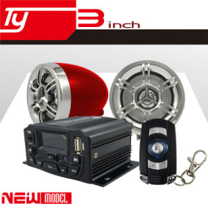High Quality Big Power Motorcycle Amplifier Scooter Audio System pictures & photos