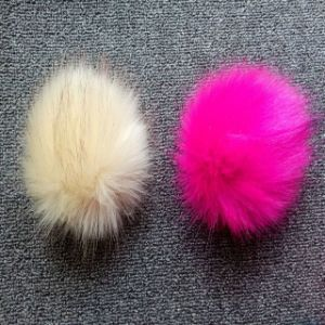 Fake Fur POM Poms Fur Ball for keychain /Hat pictures & photos