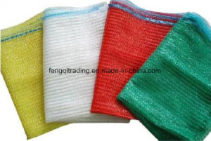 Wholesale Drawstring Mesh Bags and 50kg PP Bags for Onion Potato and Firewood L-Sewing Mesh Bag for Firewood pictures & photos