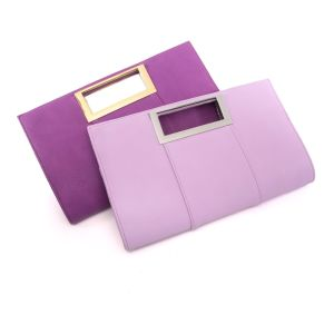 Fashion Square Clutch Leather Bag for Women 2016 (MBNO042111) pictures & photos