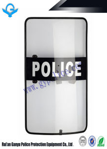 3/4mm Impact Resistant Anti Riot Shield with Rubber Edge pictures & photos