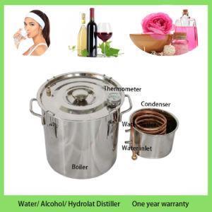 Gin Fruit Brandy Distiller Moonshine Copper Distillation Equipment 8gal pictures & photos