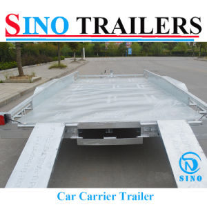 Car Motobike Towing Box Trailers with Ramp pictures & photos