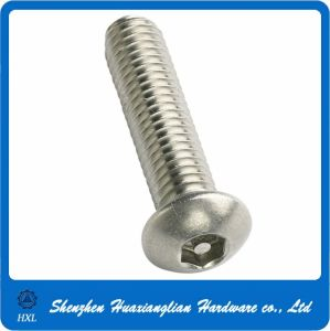 Stainless Steel Torx Pan Flower Head Torx Security Screw pictures & photos