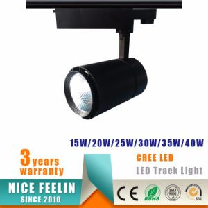Black/White Housing 40W CREE LED Track Light with 5years Warranty pictures & photos