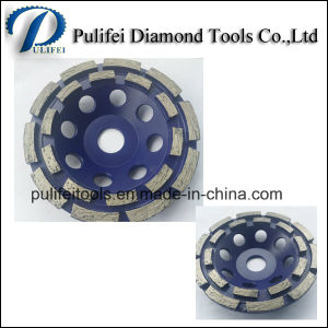 Steel Aluminum Base Resin Filled Metal Segment Grinding Cup Wheel pictures & photos