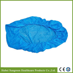 Disposable Waterproof CPE Bed Cover with Full Elastic Around pictures & photos