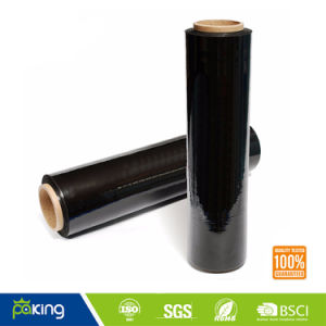 Black PE Stretch Wrap Film for Handle Pallet pictures & photos