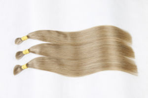 100% Real Bulk Virgin Brazilian Human Hair Extension Silky Straight pictures & photos