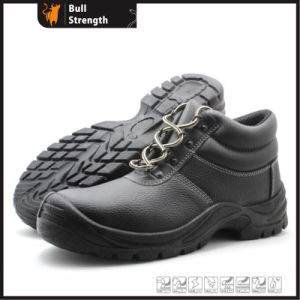 Industrial Leather Safety Shoes with PU Sole (SN5454) pictures & photos