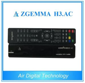 Air Digital Zgemma H3. AC FTA IPTV Box Linux OS Enigma2 Dual Core DVB-S2+ATSC Twin Tuners pictures & photos