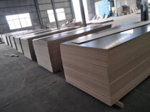 Ebony Block Face MDF, Color No.: 282, Size 120X2440mm, Thickness: as Your Order, Glue: E0, Ebony Block Paper MDF, Melamine MDF pictures & photos