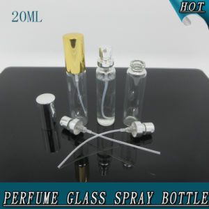 Empty 20ml Clear Glass Crimp Perfume Spray Bottle pictures & photos