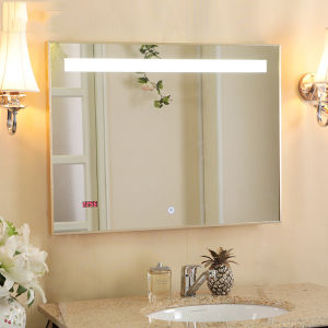 Cheap Bathroom Mirrors with Lights for Economical Apartment or Hotel pictures & photos