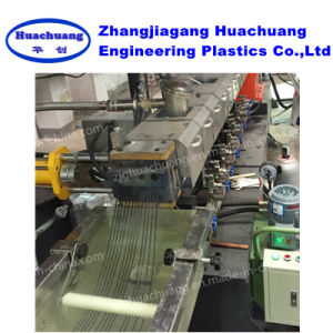 Parallel Twin Screw Recycled Mixed Plastic Granules Making Machine pictures & photos