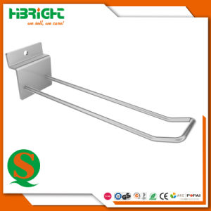 Supermarket U Shape Double Wire Euro Bar Hook pictures & photos