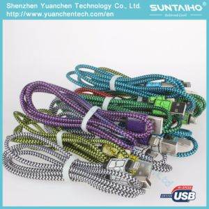Cable Manufacture Quality Nylon Braided Lightning Cable pictures & photos