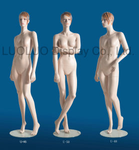 Realistic Female Mannequin with Sculpture Hair U-46