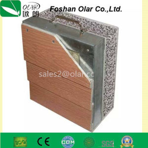 Ce Approved Wood Grain Fiber Cement External Siding Batten/ Plank pictures & photos