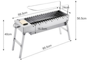 New Style Stainless Steel Rotating BBQ Grills pictures & photos