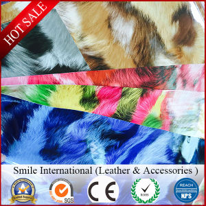 PVC Leather Digital Printing High-Light Artificial Leather Used Shoes and Handbags pictures & photos
