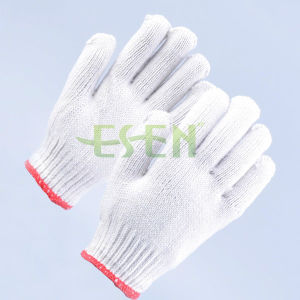 High Quality Cotton Construction Gloves /Cut Resisitant Gloves Manufacturer in China pictures & photos