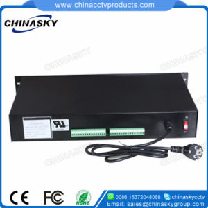 12VDC 20A 16 Channel Rackmount CCTV Power Supply (12VDC20A16P/R) pictures & photos