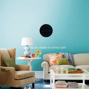 12 Hour Format Electric Circle LED Digital Wall Time Clock pictures & photos