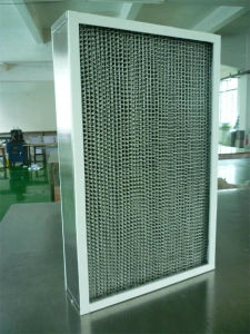 Ht350 High Temperature HEPA Air Filter with Aluminum Foil Separator pictures & photos