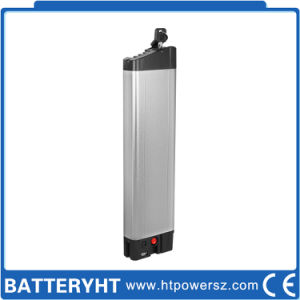 Lithium Ultra-Thin 10ah 36V 15A Electric Bicycle Battery pictures & photos