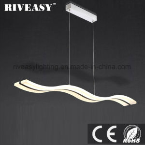 Curve Shape Decoration Hanging LED Commercial Pendant Lamp pictures & photos