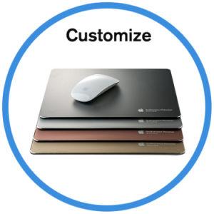 Custom Logo Aluminum Mouse Pad pictures & photos