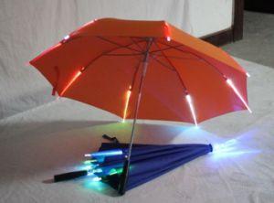 Innovative Design LED Umbrella Inverted Umbrella LED Umbrella Factory pictures & photos