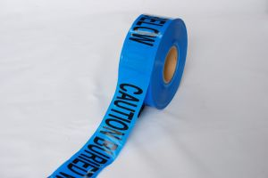 Custom Printed PE Hazard Warning Barricade Tape (YYT-020) pictures & photos