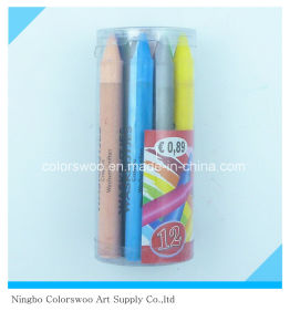 96g 12PCS Plastic Crayons for Students and Kids pictures & photos