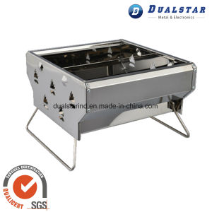 Mini Stainless Steel Folding Barbecue Stove pictures & photos