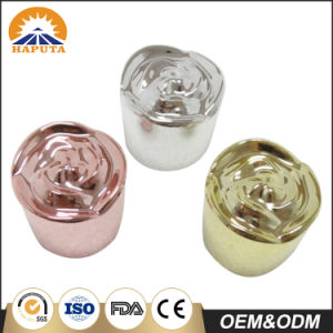 Colorful Rose Customized Plastic Bottle Cap pictures & photos