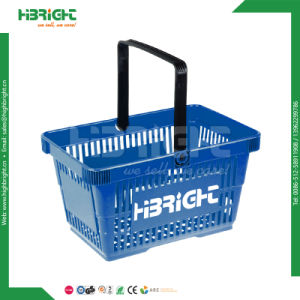 Virgin PP Stackable Supermarket Shopping Basket pictures & photos