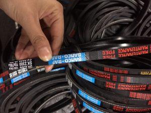 Cogged V Belt (teeth V belt) for Car Drive Engine pictures & photos