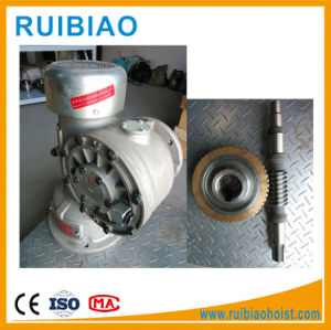 Construction Lifting Hoist Worm Gear Reducer Gearbox pictures & photos